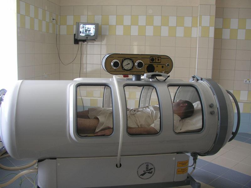 Камера для гипербарической оксигенизации