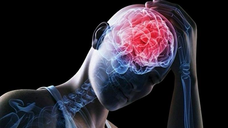 Повреждении мозговых структур при отравлении
