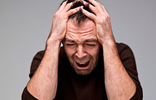 Больной алкогольной токсической энцефалопатией