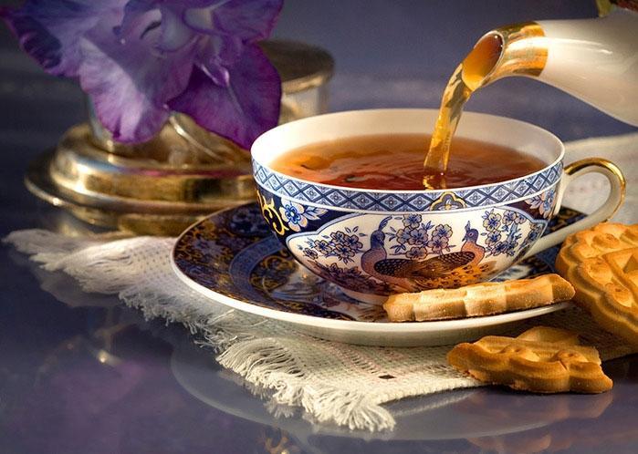Чашка крепкого чая