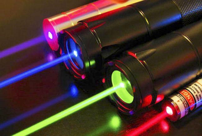 Лазерные лучи
