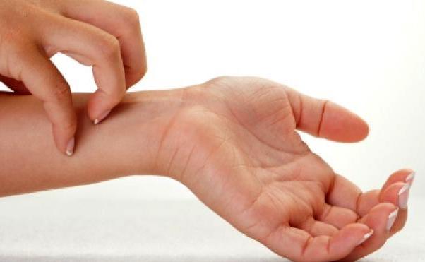 Кожный зуд при токсическом гепатите