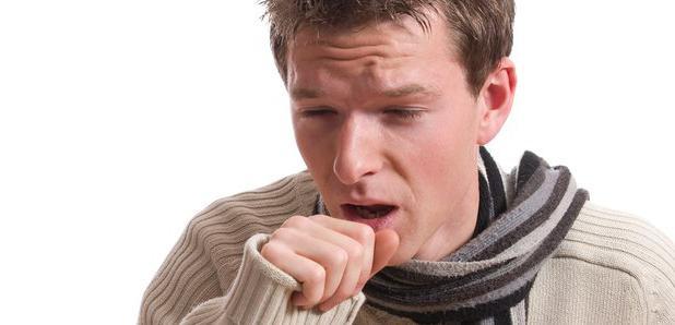 Сухой кашель при отравлении СО2