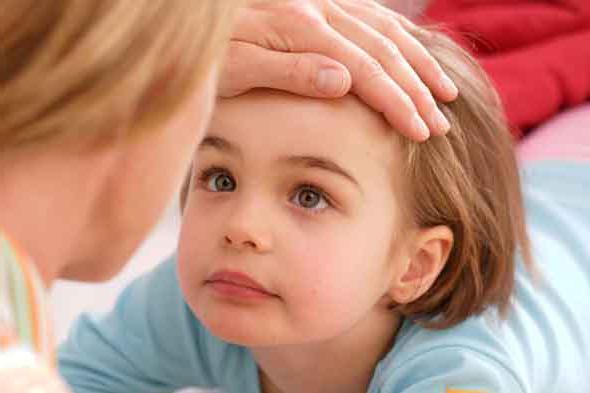 Фиксация зрачков у ребенка