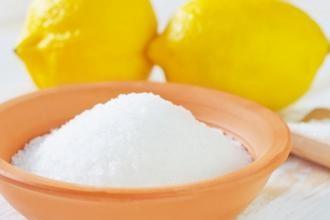 Отравление лимонной кислотой