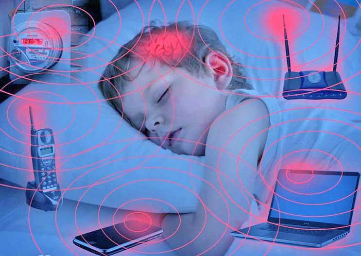 Электромагнитные волны от бытовых устройств