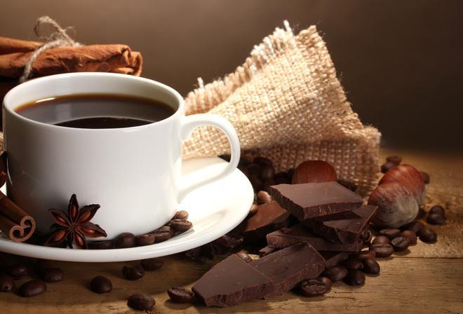 Сочетание шоколада с кофе