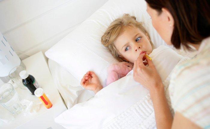 Лечение температуры у ребенка