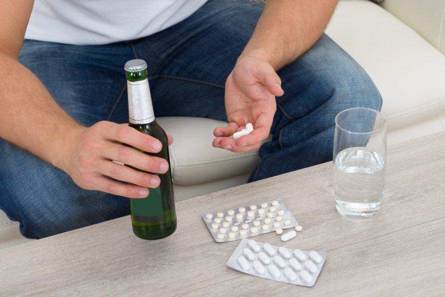 Употребление алкоголя при приеме лекарства