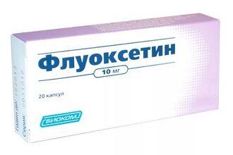 Передозировка Флуоксетином
